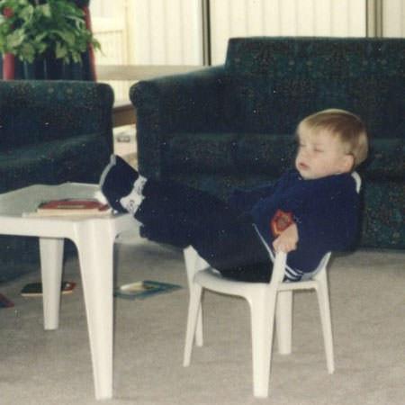 A Young Matt Thomas